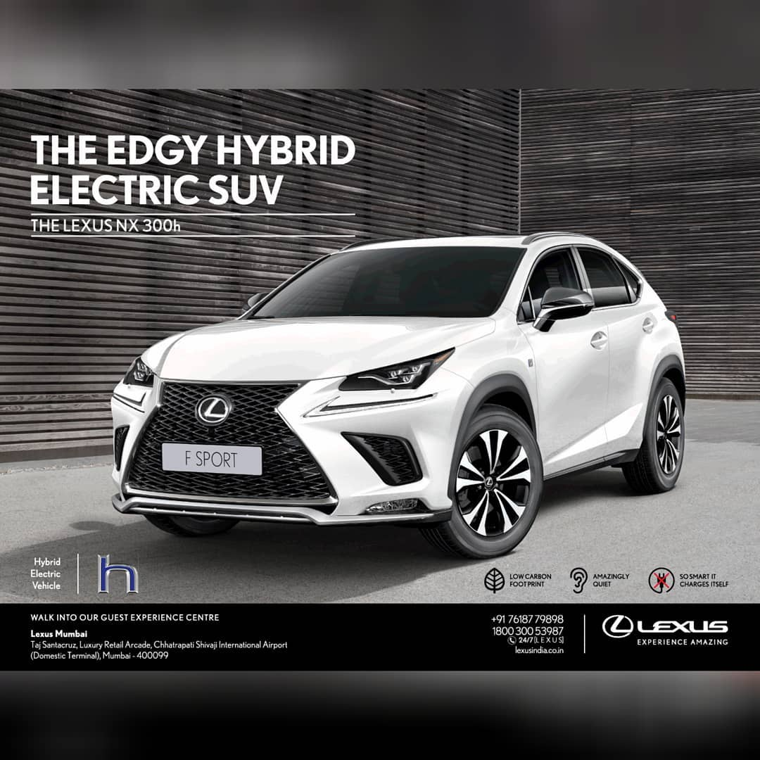 Lexus NX 300h: The Edgy Hybrid Electric SUV #Autombiles